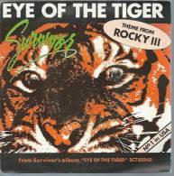 "45 Tours SP - Du Film "" ROCKY III "" ( SYLVESTER STALLONE ) SURVIVOR - Soundtracks, Film Music"