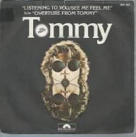 """45 Tours SP - Du Film """" TOMMY """" ( ROGER DALTREY / OLIVER REED / ANN-MARGRET / ELTON JOHN ) THE WHO - Filmmusik"""