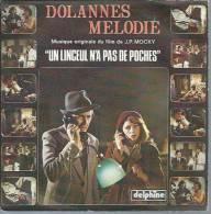 """45 Tours SP - Du Film """" UN LINCEUL N'A PAS DE POCHES """" ( MICHEL GALABRU / MICHEL SERRAULT ) - Soundtracks, Film Music"""