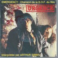 """45 Tours SP - Du Film """" URGENCES """" ( RICHARD BERRY / FANNY BASTIEN ) - Soundtracks, Film Music"""