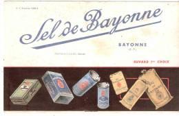 "Buvard ""SEL De BAYONNE"" - Blotters"