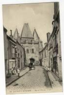 LA  FERTE BERNARD  - Rue De L ´ Huisne. Au Verso Cachet Du 9ème Terr D'Inf 15ème Compagnie. - La Ferte Bernard