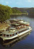 01907 Motorschiffe SAALBURG Und GERA - Paquebots