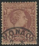 MONACO 1885 - Yvert #4 - VFU - Ohne Zuordnung
