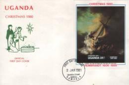REMBRANDT-UGANDA 1980 - Rembrandt