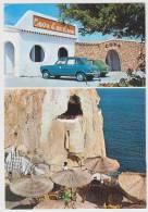 Cala'n Porter: SIMCA 1100, FIAT 127 - Menorca, Cova D'en Xorol -Auto/Car/Voiture- Espana/Spain - Passenger Cars