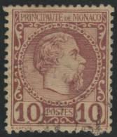 MONACO 1885 - Yvert #4 - VFU - Monaco