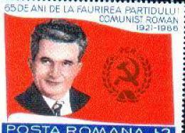 Romania Ceausescu Leader Comunnist Mint Stamps.. - Celebrità