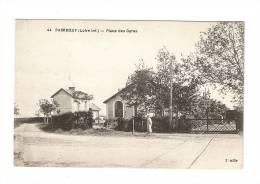 CPA - 44 - Loire Atlantique : Paimboeuf : Place Des Gares - Paimboeuf