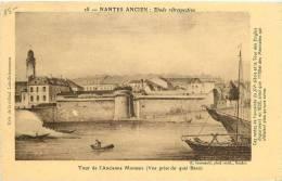NANTES    ANCIEN   TOUR DE L ANCIENNE MONNAIE - Nantes