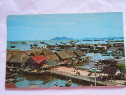 Malaysia Maleisie Sea Side Village Of The Fisher Folks Penang Village Des Pecheurs - Malaysia