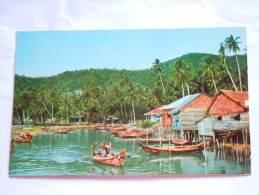 Malaysia Maleisie Riverine Kampong In  Penang - Malaysia
