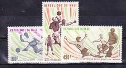 1977-Mali-Mi: 604-606 (**) - Malí (1959-...)