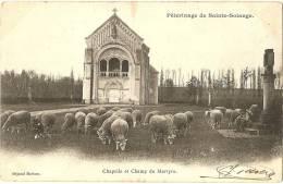 18 - CHER -  SAINTE SOLANGE - Chapelle Et Champ Du Martyre - Autres Communes