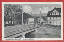 Saar - WIEBELSKIRCHEN - Westmark - Hindenburgbrücke - 2 Scans - Guerre 39/45 - Kreis Neunkirchen