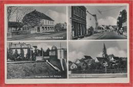Saar - WIEBELSKIRCHEN - Westmark - 4 Vues - 2 Scans - Guerre 39/45 - Kreis Neunkirchen