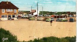 62 STE CECILE PLAGE  LA  PLACE   ALIMENTATION CAFE AU 421en  1968 BELLES VOITURES - Calais