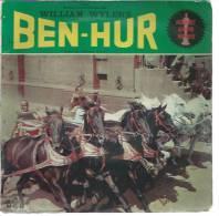 "45 Tours EP - Du Film "" BEN-HUR "" ( CHARLTON HESTON / STEPHEN BOYS / JACK HAWKINS ) - Filmmusik"