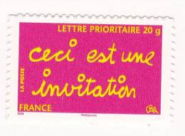 2008 N° 204   Timbre Message Auto Adhésif - Luchtpost