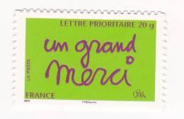 2008 N° 205   Timbre Message Auto Adhésif - Luchtpost