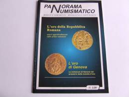Lib152 Panorama Numismatico, Rvista Monete Medaglie Cartamoneta Coins Monnaie Medaille Banknote Rare Catalogo N.128 1999 - Italiano