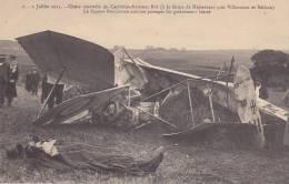 Villenauxe Capitaine Aviateur Rey - De l'accident aux obs�ques cartes num�rot�es de 1 � 10