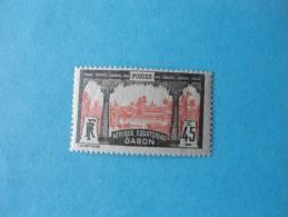 Gabon Poste Neuf ** N°86 - Gabon (1886-1936)