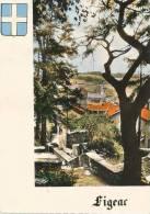 FIGEAC  Perspective De La Terrasse Du Puy - Figeac