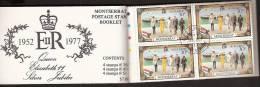 Montserrat 1977 Postage Stamp Booklet - The Silver Jubilee - Stamped - MNH/** - Montserrat