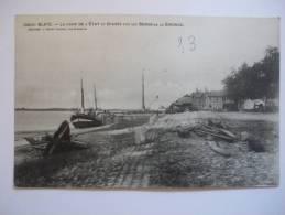 2nrc - CPA N°3802 - BLAYE - La Gare De L'état Et épaves - [33] - Gironde - Blaye