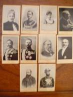 Collection 16 Personnages Célèbres : 10 Photographies Sans Publicité Au Dos - Sonstige