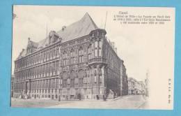 GAND-GENT -l´ Hotel De Ville -circulée  - Edit.H.G àA N° 674. -(scan Recto-verso) - Gent