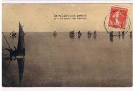 80- ST-VALERY-SUR-SOMME- Le Depart Des Barques - Saint Valery Sur Somme