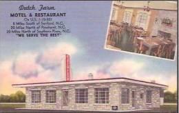 NC Sanford Dutch Farm Motel & Restaurant