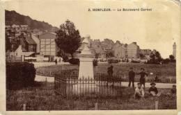 14 Honfleur. Le Boulevard Carnot - Honfleur