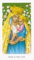 MARIA SS. DELLA NEVE SERIE EGIM 153 - Images Religieuses