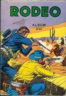 Western - Rodéo -REceuil N° 50 - N° 267, 268, 269, 270 - Petit Format -  Bonétat - NMPP 1974 - Rodeo