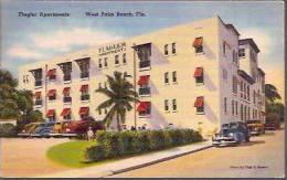 FL West Palm Beach Flagler Apartments 1954