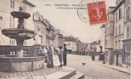 MANTES/78/Place De ....et Fontaine Renaissance/Réf:C0832 - Mantes La Ville