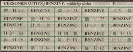 Netherlands Distribution Coupon For Petrol In The Second World War - Auto's/benzine - Vaticaanstad