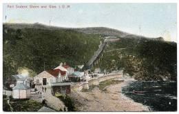ISLE OF MAN : PORT SODERIC SHORE AND GLEN - Isle Of Man
