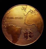 M01078 Banque Italo-Belge (Italie, Brésil),  1911-1961, Carte Atlantique (92 G.) - Belgium