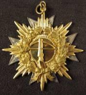 M01122 Hallebarde / Crossbow, Lauriers Et Croix,  EErekr Nodit Ged Zev B Hoek 13/08/1933 (20 G.) - Belgium