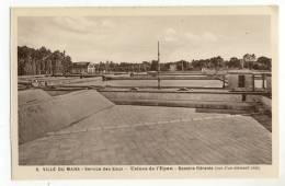 LE MANS. - USINES DE L´EPAU. - Service Des Eaux Et De L´Eclairage. - Bassins Filtrants (vue D'un élément Vide) - Le Mans