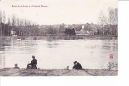 Bords De La Seine Et Propriété Daudet - France
