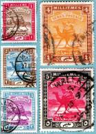 1903-22  Ordinaria N° 18-19-20-22 - Soudan (1954-...)