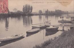 SARTROUVILLE/78/Quai De Seine,le Garage Blondeau/Réf:C0840 - Sartrouville