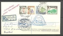 1960. Rodesia A Alemania. Sobre Circulado Por Correo Certificado - Rodesia & Nyasaland (1954-1963)