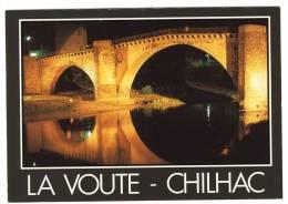 LAVOUTE-CHILHAC   Le Pont La Nuit  - CPM - Autres Communes