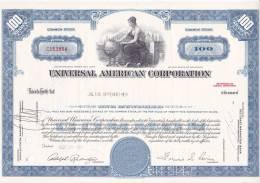 Bonds/Shares: 1967 Universal AmericanCorporation, Value 100 Shares (A 388) - Industrie